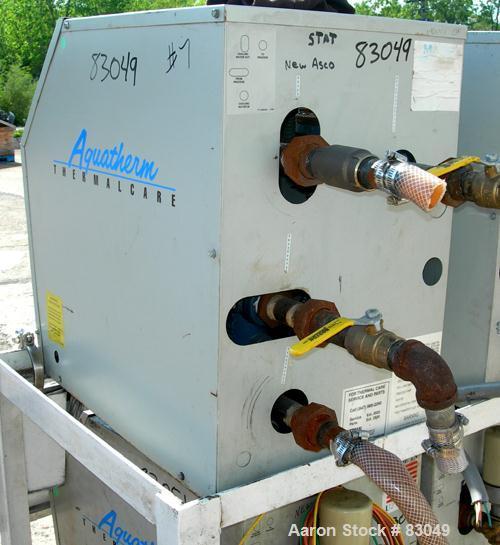 USED: Thermal Care Water Temperature Control Unit, model RA092004.   9 kw, single zone, 3/60/460 volt, 14 amp, max temp 250 ...