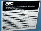 USED: AEC Temperature Controller, model TDW-1NX. 3/60/460 volt, 51 amp, 36 kw heater. Temperature range 45 to 250 deg F. Hea...
