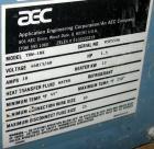 USED: AEC Temperature Controller, model TDW-1NX. 3/60/460 volt, 18 amp. 12 kw heater. Temperature range 45 to 250 deg F. Hea...