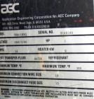 Used- AEC Temperature Controller, Model TDW-INXQ