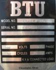 USED: Budzar temperature controller, model 10T-1820-GOL. (2) 9 kW heaters. 3/60/460 volt, 25 amp. Operating temp range 50-45...