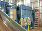 Used-Complete Plastics Wash Line. Includes the following equipment: Milnor continuous batch washer, model 763039W4F; (1) Mil...