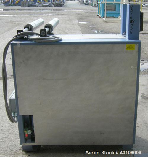 "Used:Chase Machine and Engineering unwind unit. Single station. Approximately 30"" wide capacity.Driven by a 1/2hp,180 volt, ..."
