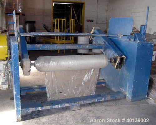 "Used:Johnson turret winder, 54"" wide with motor"