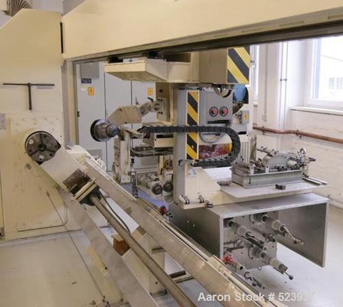 USED: Bolenz & Schaefer filament winding machine (EHA / BND) FWA 1.Length 5000 mm, diameter 300 mm; CNC Siemens Sinumerik 81...