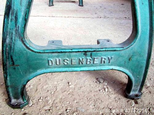 """Used- Dusenbey 32"""" Manual Core Cutter. Includes 3"""" mandrel with 2 blades. 1/2 Hp motor."""