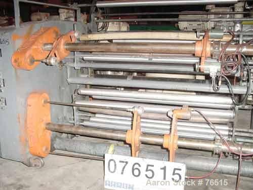 Used- GEC Dual Turret Winder, Model 123-12638-2