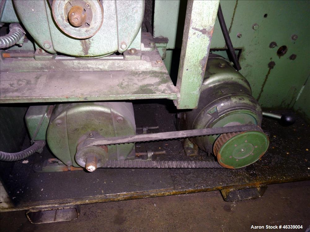 "Used- Hobbs Winder, Approximately 56"" Wide. Approximately 6 to 75 feet per minute. (3) Hobbs winder motors, type 8 x 213 B, ..."