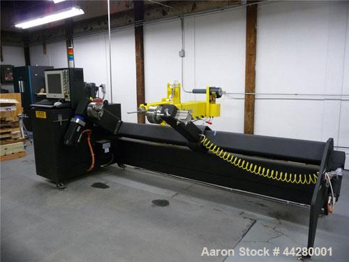 Used-McClean Anderson Super Hornet Filament Winding Machine, Model WSH-1-4-2M-FLEX.   4 Axis of computer controlled motion, ...