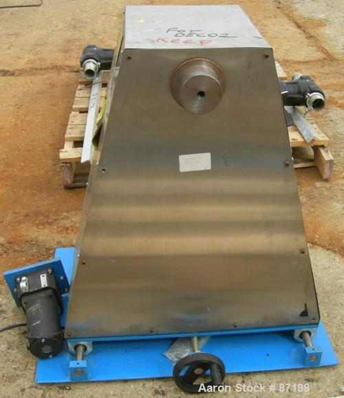 USED- Pay Off and Take Off Reel. Includes start and stop controls. Missing reel and cover.