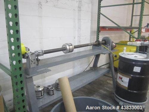 """Used- 66"""" Wide Core Cutter on stand with .5 hp, 115 volt motor."""