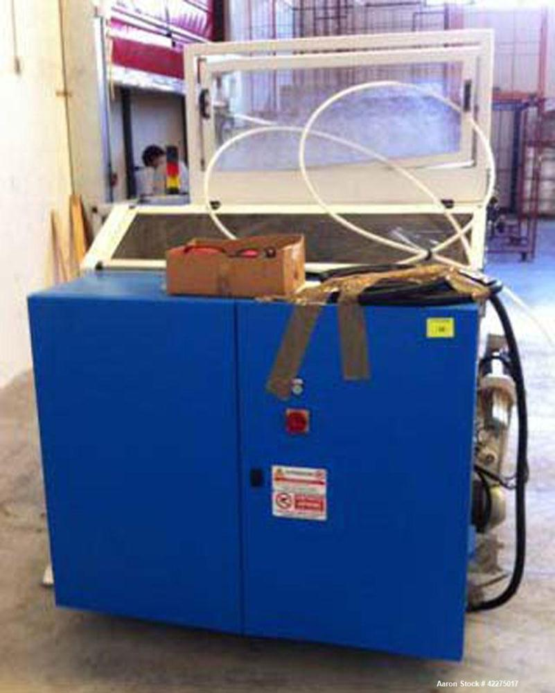 Used-Noel Automazione Industriale Automatic Rewinder.  Built in 2007 and suitable for rolls with a core diameter of 50 mm an...