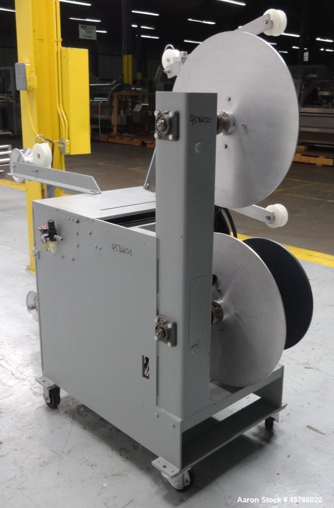 Used- Progressive Machine Co Dual-Spindle Spooler, Model: S160CA-RH, Serial: 255