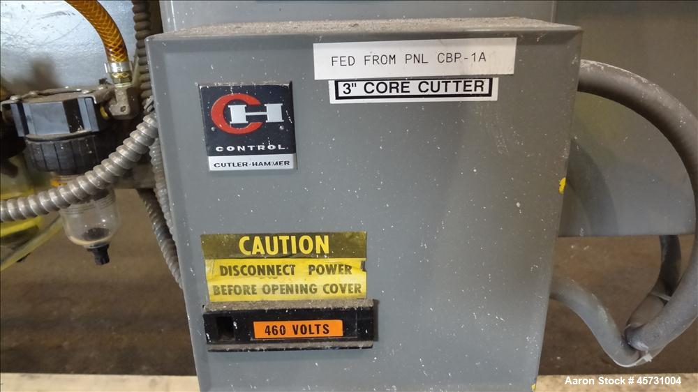 Used- Appleton Manufacturing Core Cutter, Model S200