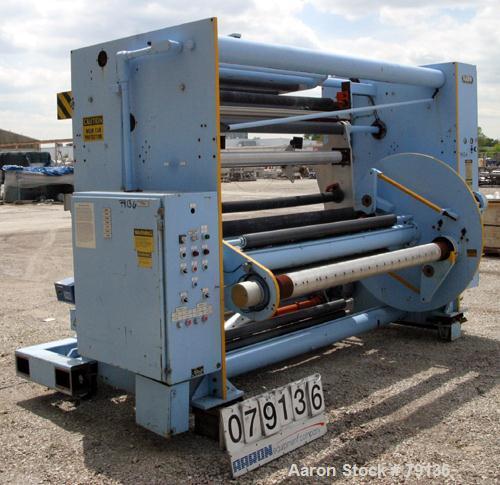 Used- Sano Dual Turret Winder, Model STW74.270