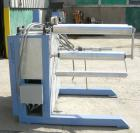 Used:Chase Machine and Engineering rewind unit. Single station. Approximately 30