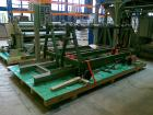 Used-Berstorff Winder/Unwinder for Polyester Fabrics.  Maximum capacity 98 feet/hour (30 m), material thickness 0.008