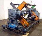 Used- Crown Dual Turret Winder, approximately 84