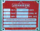 Used- Johnson Plastics Machinery Dual Turret Winder, Approximately 36