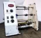 Used- Welex 3 Fixed Position Winder. Approximate 31'' wide x 30'' diameter rolls, (3) fixed positions on 24