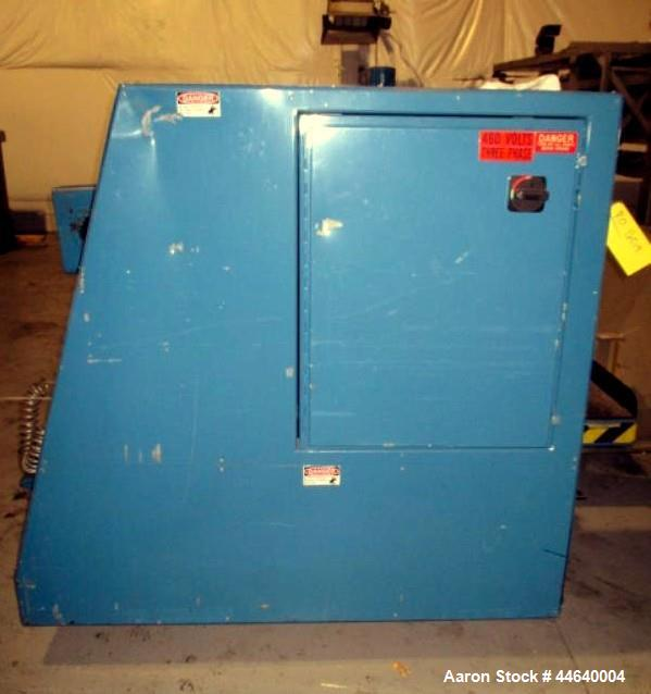 "Used- Vulvan Single Turret 2 Position Winder, Model TWQ422. 52"" Wide, 3"" cores, up to 24"" roll diameter. Serial #98263."