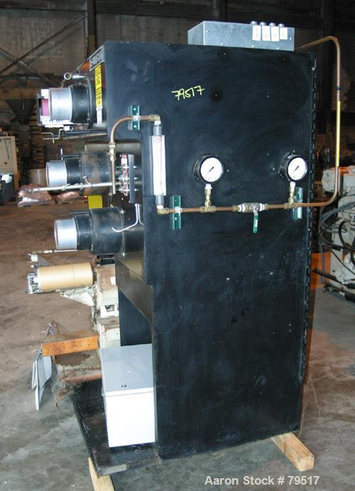 "Used- Bouligny Company One Position Melt Spin System Consisting Of: (1) Sterling 1-1/2"", 30:1 L/D ratio extruder, 4 zone bar..."