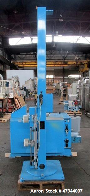 "Used- Hall Industries 40"" Movable Arm Take-Up, Model 40MA. 5/8"" Maximum product diameter, 40"" to 6"" maximum - minimum reel d..."