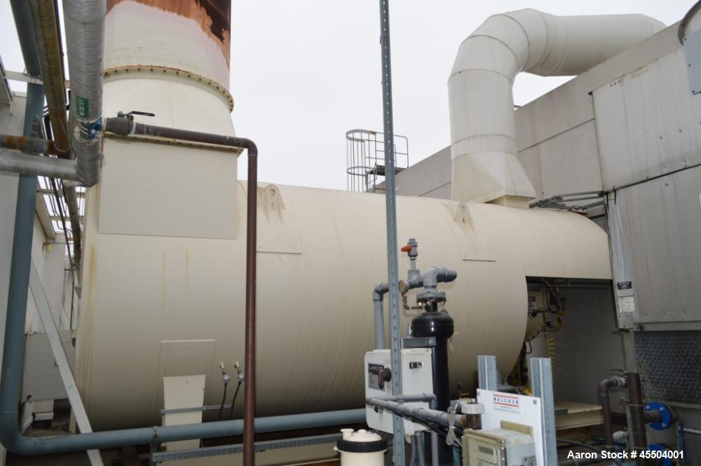 Used-  Atea-WK Thermal Oxidizer/Waste Air Cleaning System, Model Atea-WK-TNV 15s