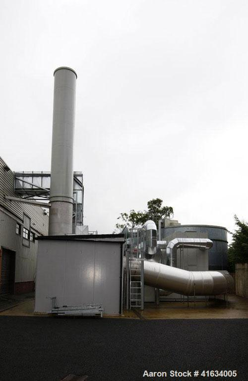 Used- Lesni Rotating Concentrator Thermal Oxidizer, 62,000 Nm3/hr capacity. Consisting of rotor concentrator with Zeolite wh...