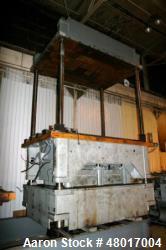Used- 150 Ton Hamilton 4-Post Molding Type Press.