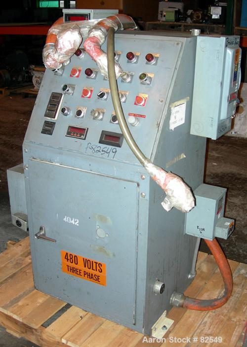 Used- Bruno Machinery Roll Feed Die Cutting Press, Model RS7