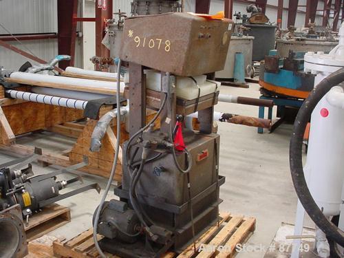 Used- Dake Hydraulic Lab Press, Model 44-479. Electrically heated platen, 2 hp hydraulic drive, 8000 watts, 3/60 operation..