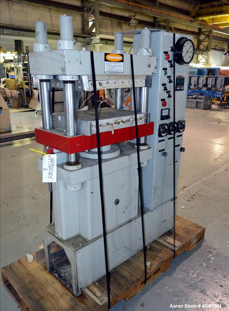 Used- PHI Upacting (4) Post Hydraulic Press, 50 Tons, Model S50MR-2 43-14-Y4-C
