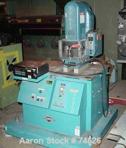 "Used- Kenco Taber Forming/Cut-Off Press, 3 Ton, Model 3K-7-125. 7"" Frame opening, 380 spm. Driven by a 3/4 hp, 1/60/115 volt..."