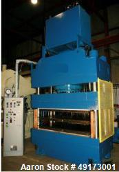 Unused- Accudyne 4 Post Hydraulic Press.