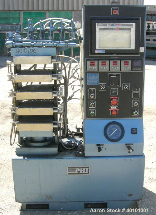 Used- PHI Multi Daylight 50 Ton Upacting Hydraulic Compression Press, Model SB53