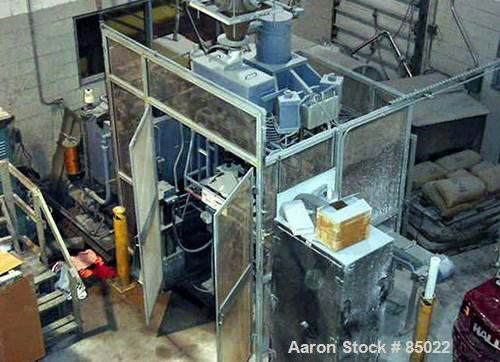 Used- Simac Densomatic Dry Bag Isostatic Press, Model 3/150/800C, Approximately 150 Ton. Automatic cycle, hydraulic pressure...