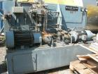 Used-Buchr Guyer Hydraulic Press. 410 cubic foot (11.6 cubic meter) capacity, 60 hp/45 kW hydraulic drive, piston processing...