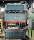 Used- 75 Ton Dake Hydraulic Press. 4 post downstroke type. Floor standing. Distance between 4