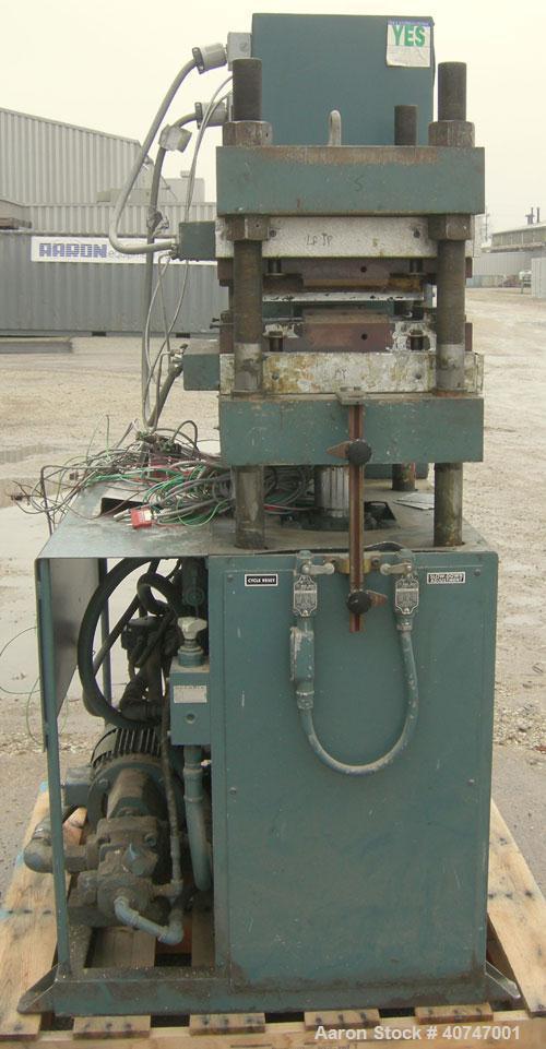 "Used- Wabash 75 Ton Hydraulic Press, model 75-18-2TMAC. Platen size 18"" x 18"".  Adjustable daylight opening 6-15"".  7"" strok..."
