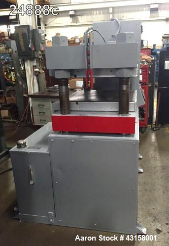 Used- Wabash Motorized Self-Contained Hydraulic Compression Press, Model PC125-2