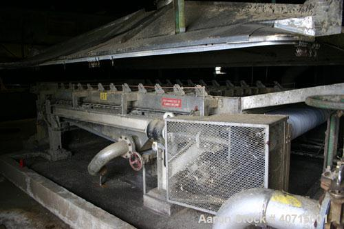 "Used- Andritz/Dupps Screw Press, model 3616, 304L stainless steel. Screw 36"" diameter x wetted length 16'9"" long, rated 100 ..."