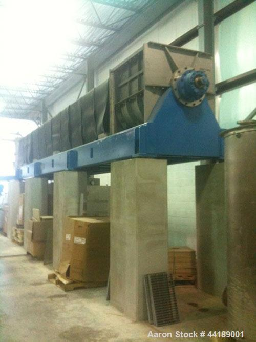 Used-Andritz Dupps Series 3600 Dewatering Screw Press, Model 3632