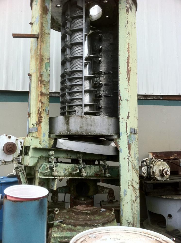 Used- Beloit Jones Pressmaster Screw Press, Model P-225