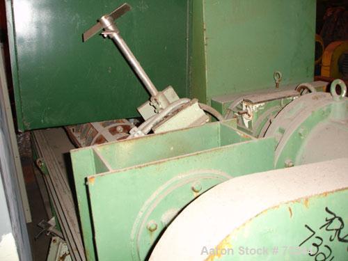 "Used- Hosokawa Bepex Screw Press, Model BXP-200, 304 Stainless Steel. Approximate 8"" diameter x 6' long screw, approximate t..."