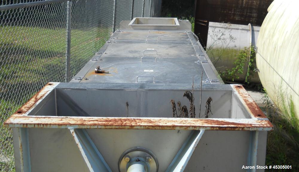 Used-Stainless Steel FKC Screw Press, Model SHX-600