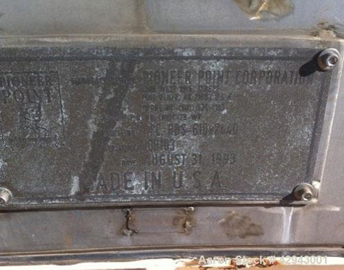 Used-Pioneer HIW Screw Press, Model HL-R-300 x 3000