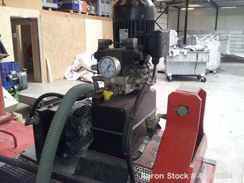 Used-Runi SK370 Screw Press, 26.7 hp/20 kW, 50 hz.