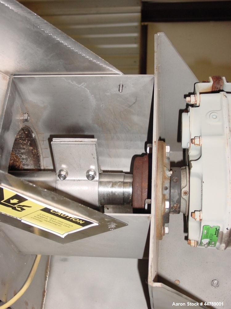 Used-Somat Dewatering Screw Press, Model 1-PB-9SC-SKD