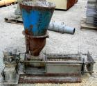 USED: Screw press, carbon steel. Approximate 6
